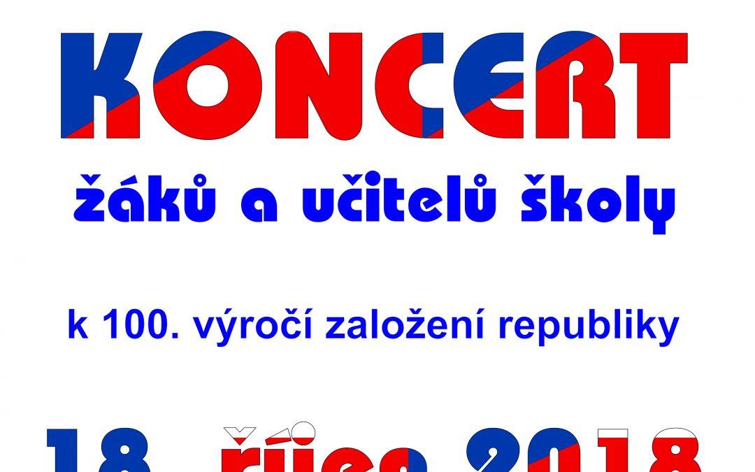 Koncert k 100 výročí založení republiky