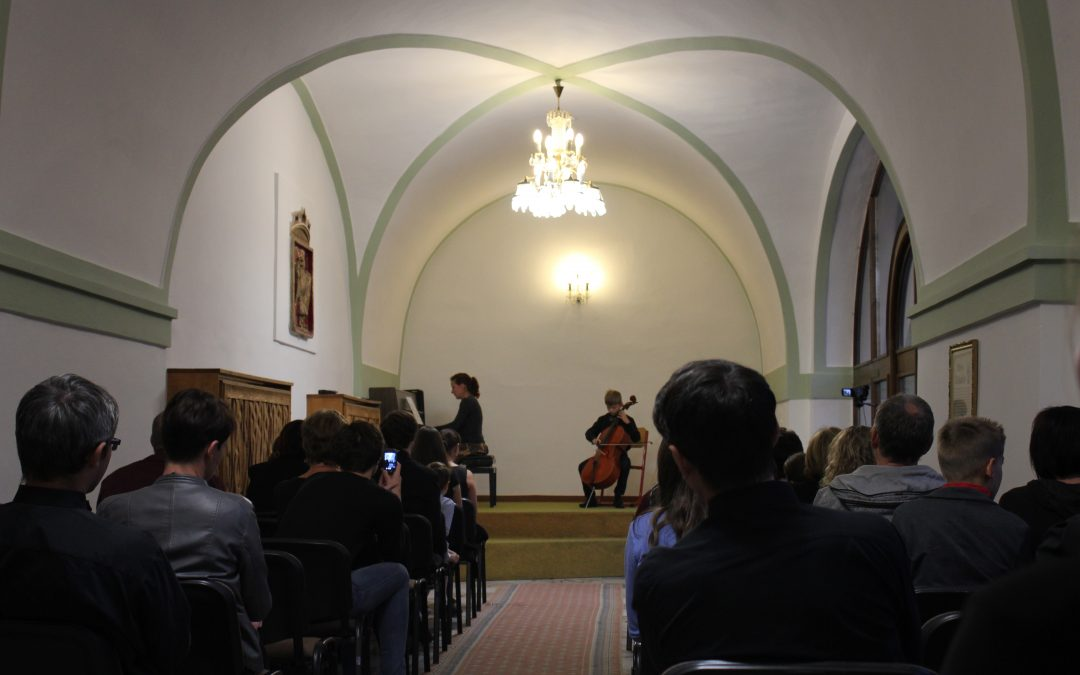 Koncert žáků školy