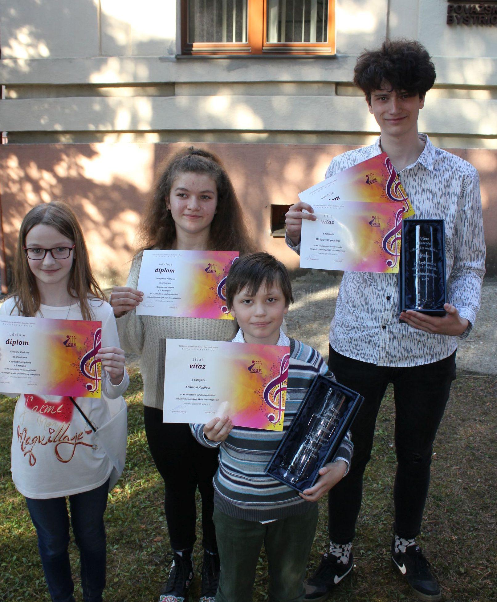 Žáci úspěšní na mezinárodní soutěži